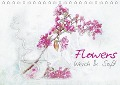 Flowers Weich & Soft (Tischkalender 2018 DIN A5 quer) Dieser erfolgreiche Kalender wurde dieses Jahr mit gleichen Bildern und aktualisiertem Kalendarium wiederveröffentlicht. - N. N