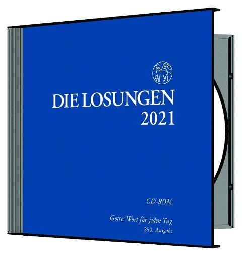 Die Losungen für Deutschland 2021 - Losungs-CD -