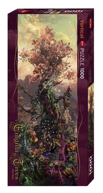 Phosphorus Tree Puzzle 1000 Teile - Andy Thomas