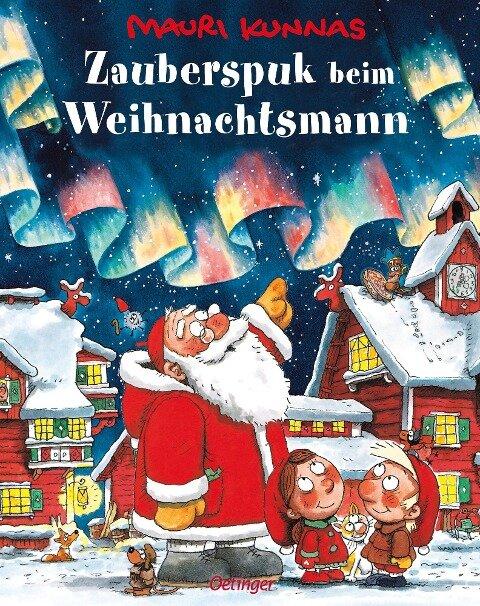Zauberspuk beim Weihnachtsmann - Mauri Kunnas, Tarja Kunnas