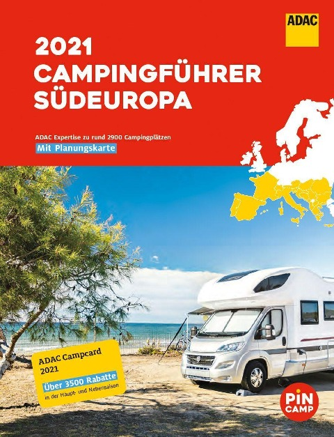 ADAC Camping-Führer Südeuropa 2021 -