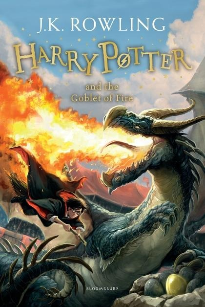 Harry Potter 4 and the Goblet of Fire - Joanne K. Rowling