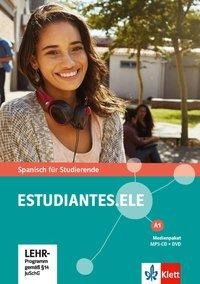 Estudiantes. ELE A1. Medienpaket (MP3-CD + DVD) -