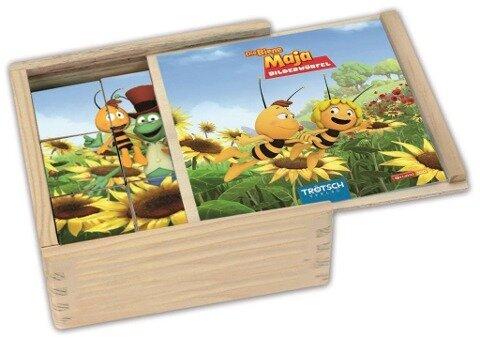 """Holz-Bilderwürfel """"Die Biene Maja"""" -"""