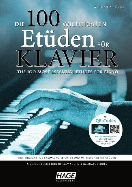 Die 100 wichtigsten Etüden für Klavier + 2 CDs - Gerhard Kölbl