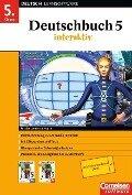 Deutschbuch interaktiv. 5. Schuljahr. CD-ROM für Windows 95/2000/XP. Neue Rechtschreibung -