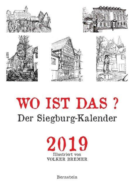 Wo ist das? Der Siegburg-Kalender 2019 -
