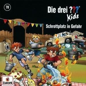 Die drei ??? Kids 78: Schrottplatz in Gefahr - Ulf Blanck