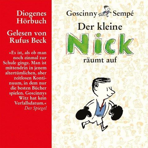 Der kleine Nick räumt auf - René Goscinny, Jean-Jacques Sempé