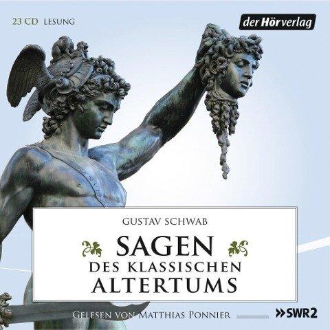 Sagen des klassischen Altertums - Gustav Schwab