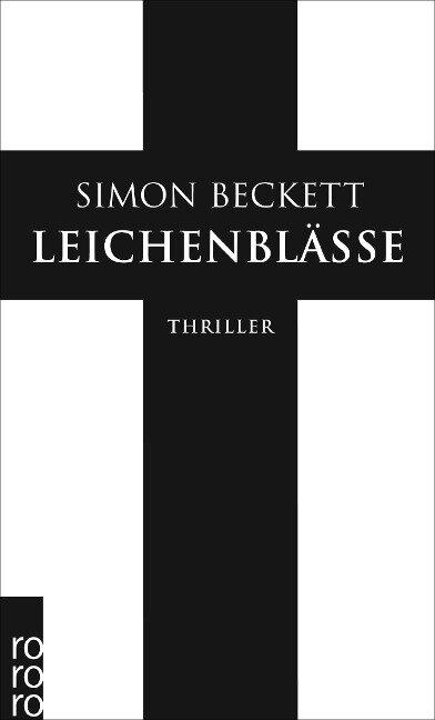 Leichenblässe - Simon Beckett