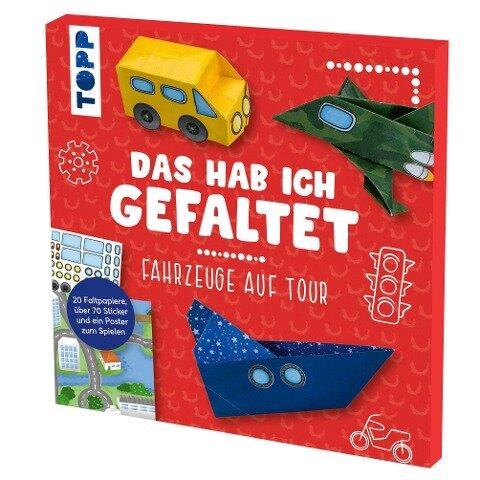 Das hab ich gefaltet Mini-Papierset - Fahrzeuge auf Tour - Susanne Pypke
