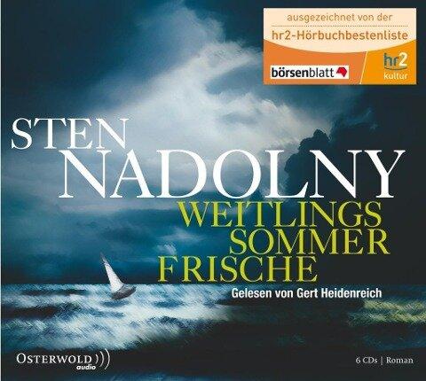 Weitlings Sommerfrische - Sten Nadolny