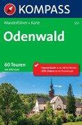 Kompass Wanderführer Odenwald - Elke Haan
