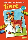 Mein erstes Malbuch: Tiere: Malen ab 2 Jahren -