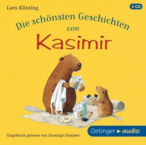 Die schönsten Geschichten von Kasimir (2 CD) - Lars Klinting
