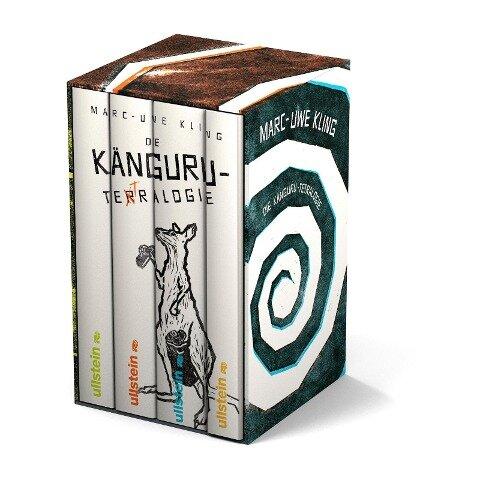 Die Känguru-Tetralogie - Marc-Uwe Kling