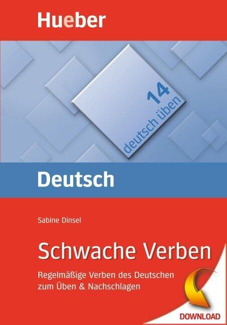Schwache Verben - Sabine Dinsel