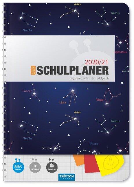 """Trötsch Schulplaner """"Blau"""" 2020/2021 -"""