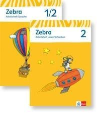 Zebra. Neubearbeitung. Schülerpaket (Arbeitsheft Sprache, Arbeitsheft Lesen und Schreiben 2. Schuljahr) -