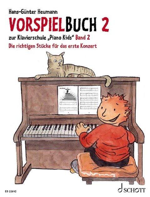 Vorspielbuch 2 - Hans-Günter Heumann