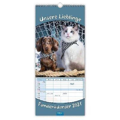 Familienkalender Unsere Lieblinge 2021 -