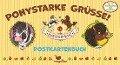 Die Haferhorde - Ponystarke Grüße! - Postkartenbuch - Suza Kolb