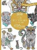 Mein Kreativplaner zum Ausmalen 2018: Katzen -