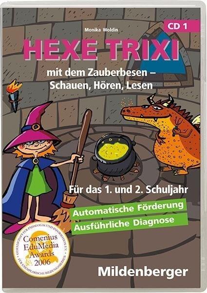 Hexe Trixi mit dem Zauberbesen CD-ROM für Windows 95/98/2000/Me/XP -
