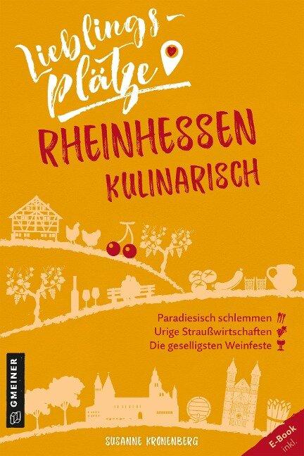 Lieblingsplätze Rheinhessen kulinarisch - Susanne Kronenberg