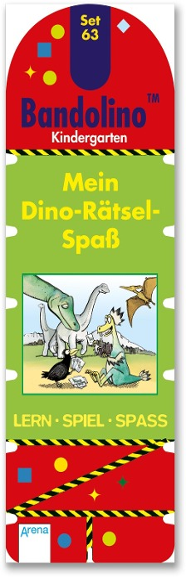 Mein Dino-Rätsel-Spaß - Friederike Barnhusen