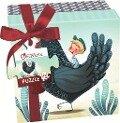 Puzzle Geschenk-Box Spiel Huhn -