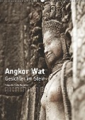 Angkor Wat - Gesichter im Stein (Wandkalender 2019 DIN A2 hoch) - Ulrike Kaltenbach