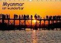 Myanmar ist wunderbar / CH-Version (Wandkalender 2018 DIN A3 quer) - Klaus Eppele