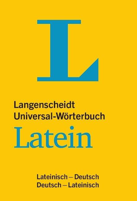 Langenscheidt Universal-Wörterbuch Latein -