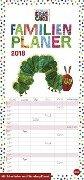 Die kleine Raupe Nimmersatt Familienplaner - Kalender 2018 -