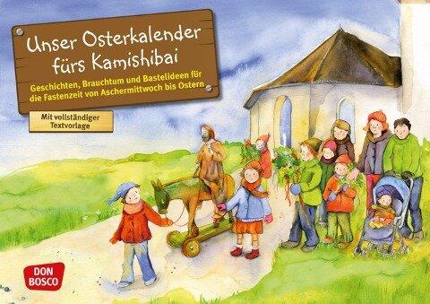 Unser Osterkalender fürs Kamishibai - Esther Hebert, Gesa Rensmann