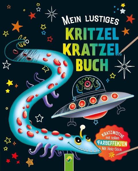 Mein lustiges Kritzel-Kratzel-Buch -