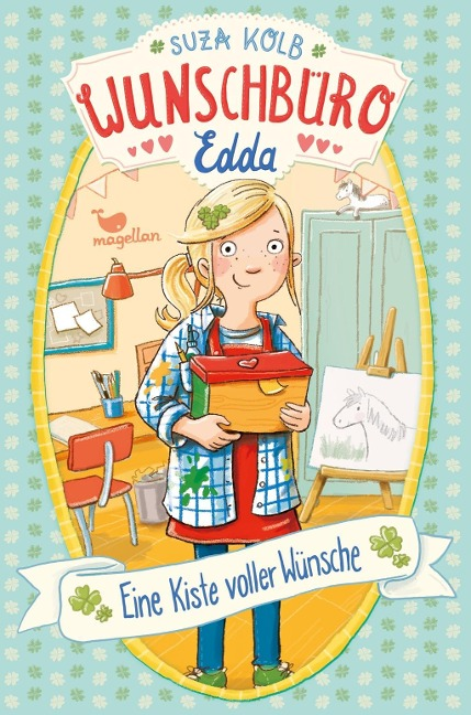 Wunschbüro Edda - Eine Kiste voller Wünsche - Band 1 - Suza Kolb