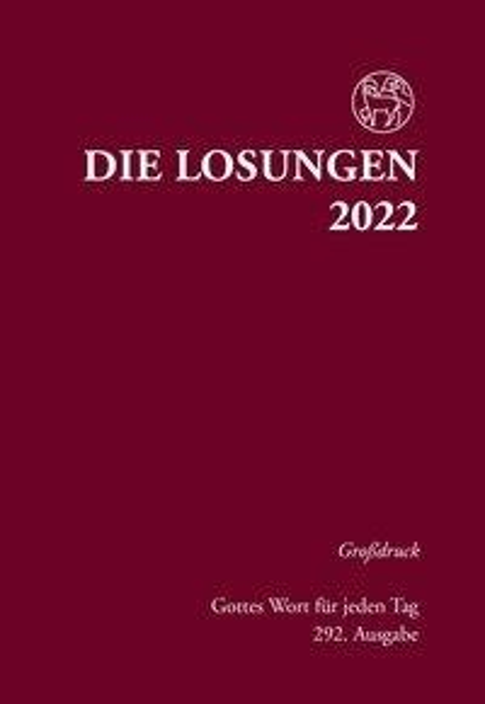 Die Losungen für Deutschland 2022 - Grossdruck, gebunden -