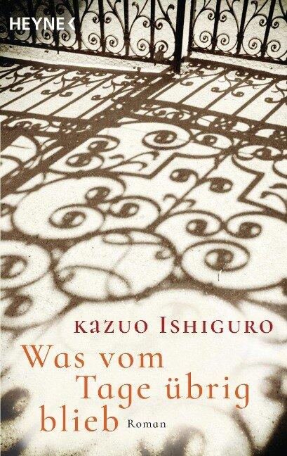 Was vom Tage übrig blieb - Kazuo Ishiguro
