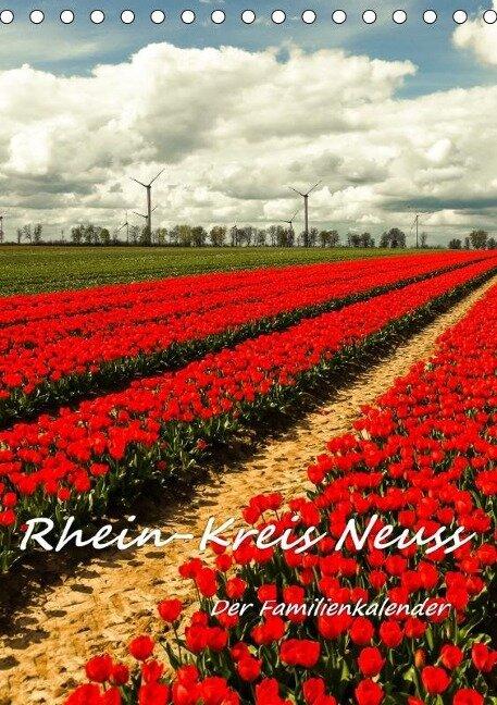 Rhein-Kreis Neuss - Der Familienkalender (Tischkalender 2019 DIN A5 hoch) - Bettina Hackstein