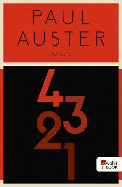 4 3 2 1 (4321) - Paul Auster