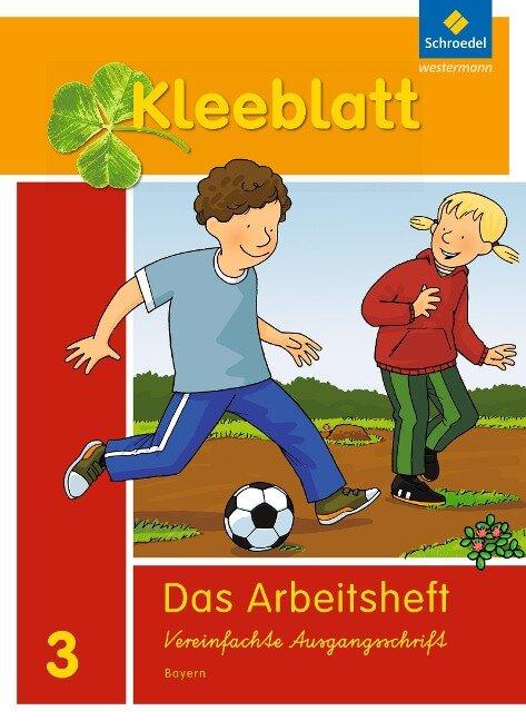 Kleeblatt. Das Sprachbuch 3. Arbeitsheft. Bayern -