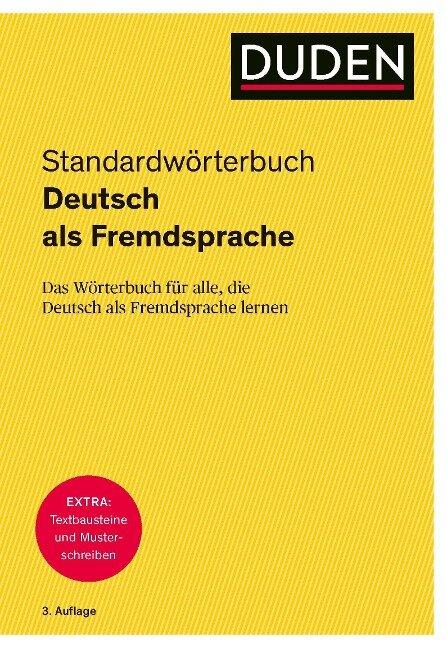 Duden - Deutsch als Fremdsprache - Standardwörterbuch -