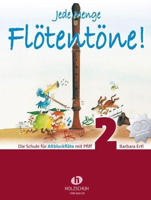 Jede Menge Flötentöne Band 2 - Barbara Ertl