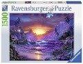 Sonnenaufgang im Paradies. Puzzle 1500 Teile -