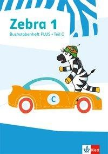 Zebra 1. Buchstabenheft Plus Klasse 1