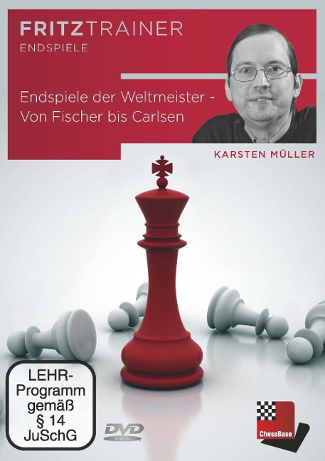 Endspiele der Weltmeister - Von Fischer bis Carlsen - Karsten Müller