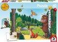 Der Grüffelo, 40 Teile - Kinderpuzzle mit Turnbeutel -